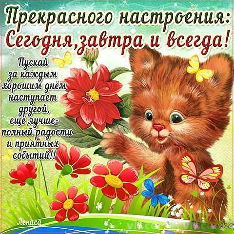 Картинки всем удачи и хорошего настроения (3)