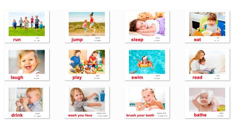 Картинки для детей с действиями (16)