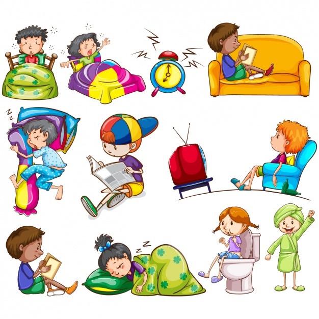 Картинки для детей с действиями (7)