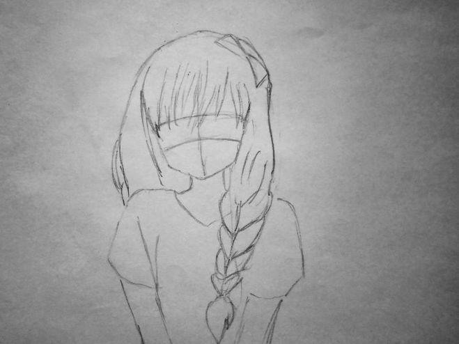 Картинки для срисовки поэтапно аниме (12)