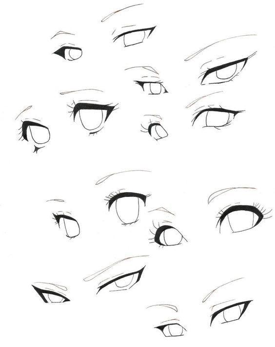 Картинки для срисовки поэтапно аниме (15)