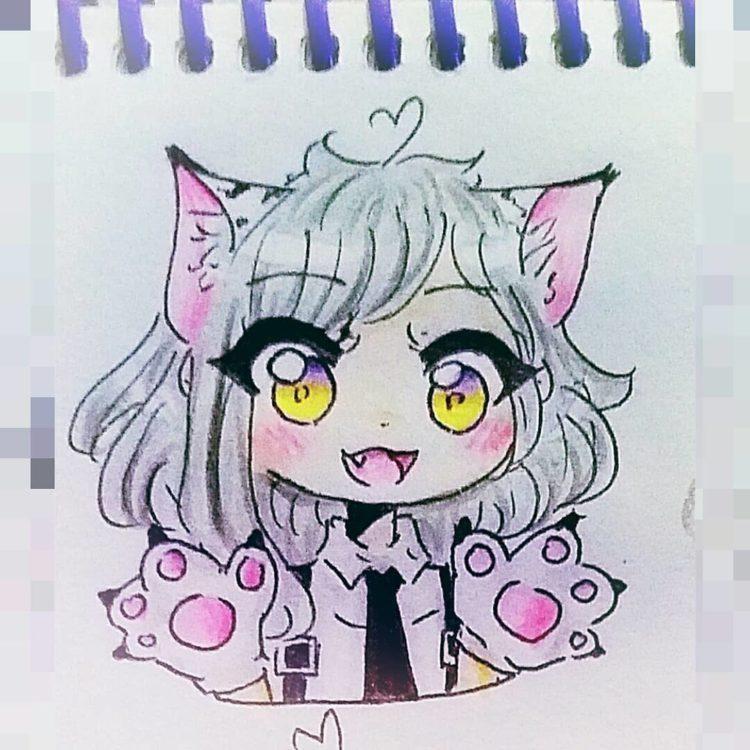 Картинки для срисовки поэтапно аниме (23)