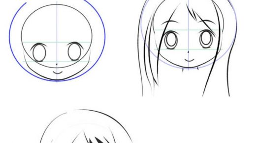 Картинки для срисовки поэтапно аниме (6)