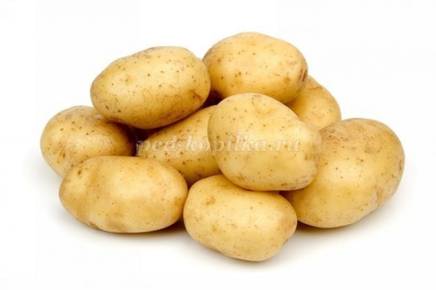 Картинки картошки для детей цветные (3)