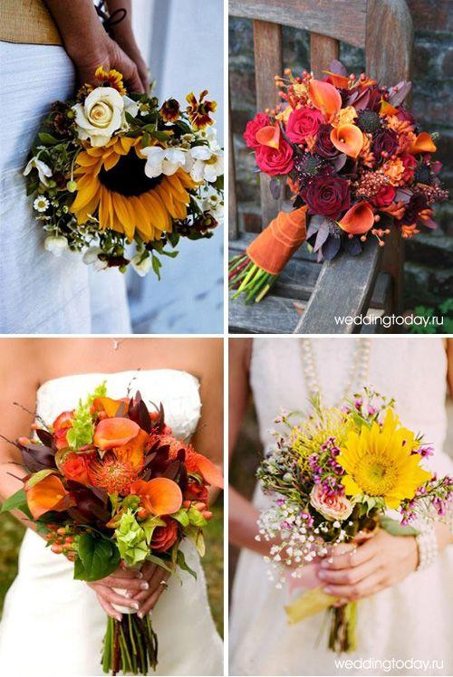 Картинки осенние букеты из цветов (23)