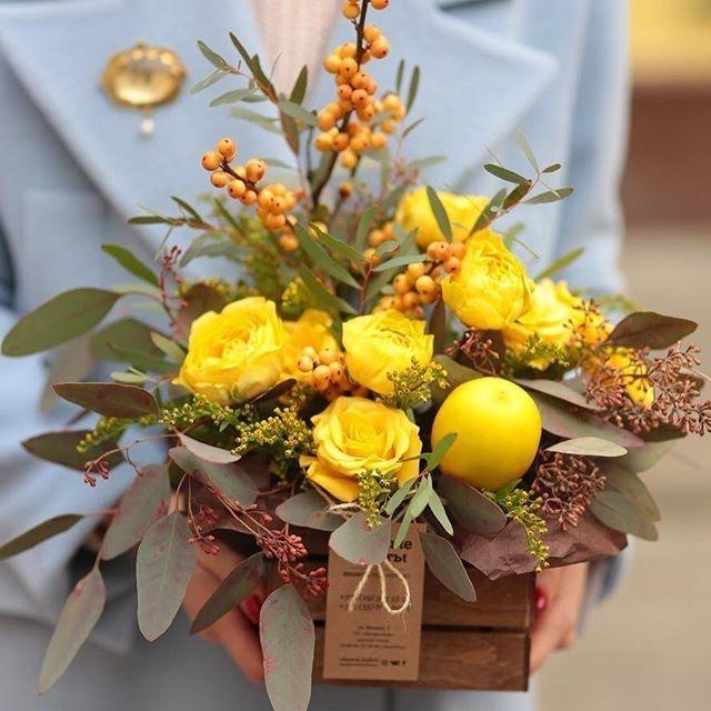 Картинки осенние букеты из цветов (29)