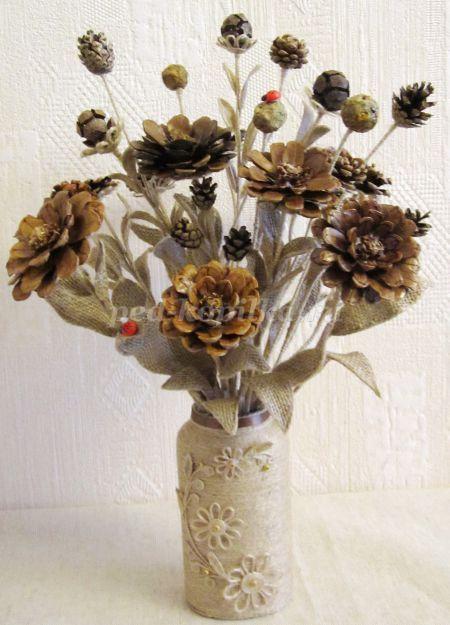 Картинки осенние букеты из цветов (6)