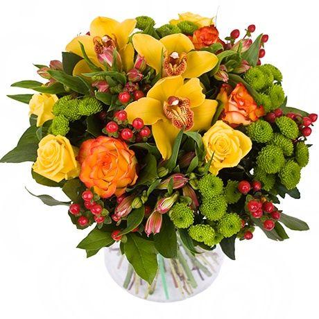 Картинки осенние букеты из цветов (8)