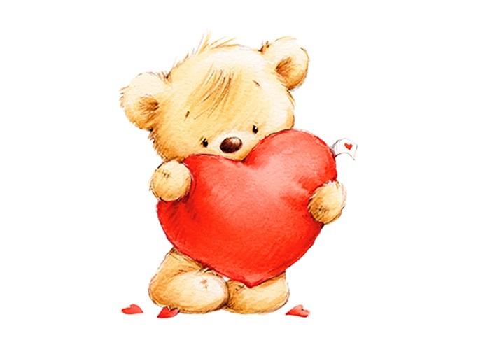 Картинки с мишками про любовь (14)