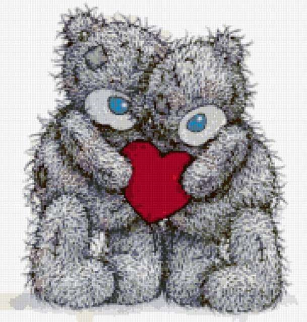 Картинки с мишками про любовь (19)