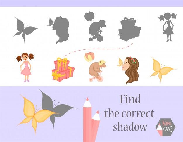Картинки тени животных для детей (5)