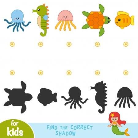 Картинки тени животных для детей (8)