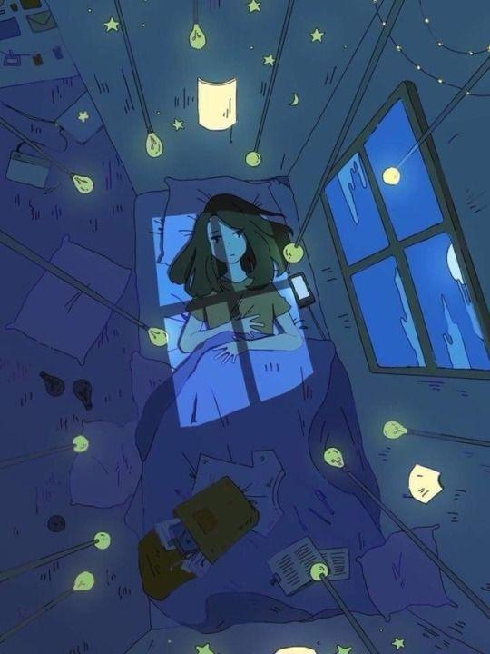Красивые девушки аниме со спины картинки (14)
