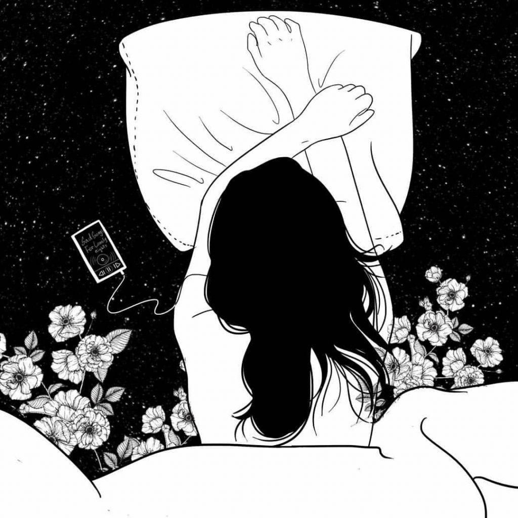 Красивые девушки аниме со спины картинки (15)