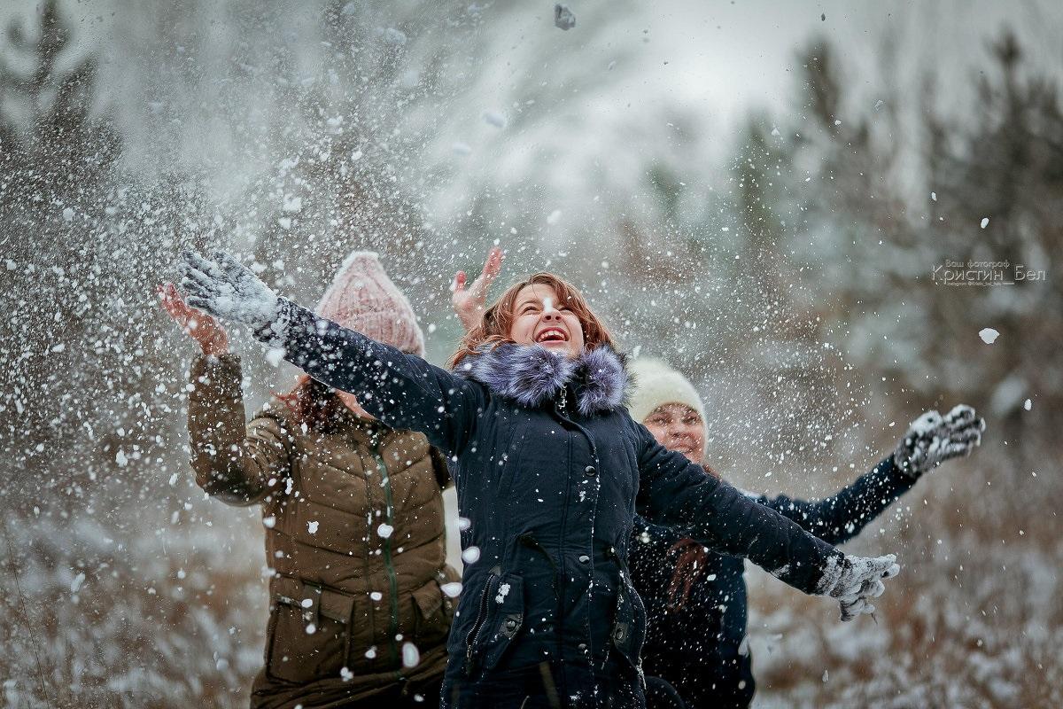 Красивые картинки на рабочий первый снег (13)