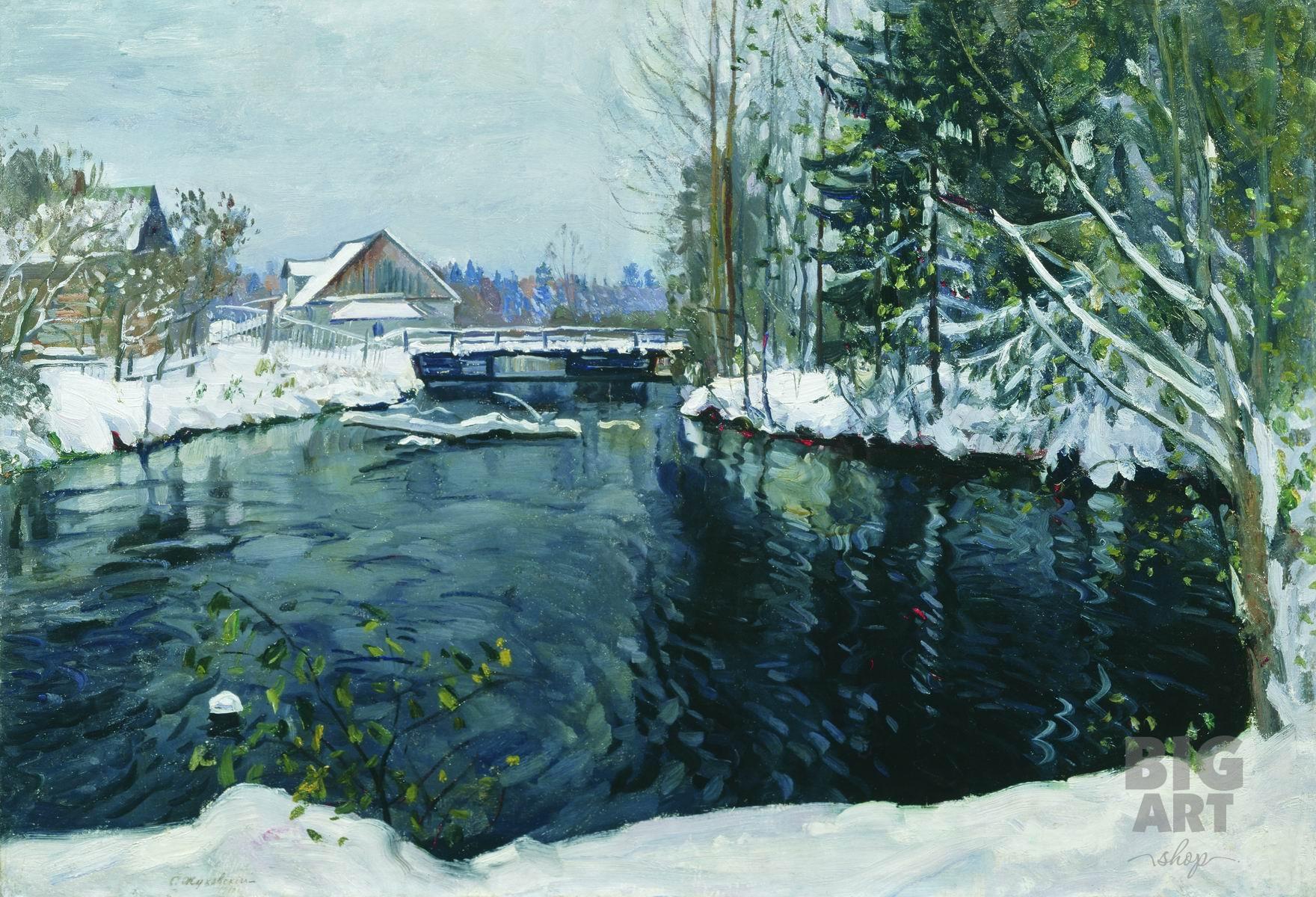 Красивые картинки на рабочий первый снег (2)