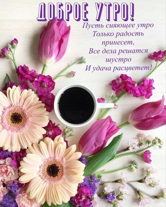 Красивые картинки с добрым утром красавица (13)