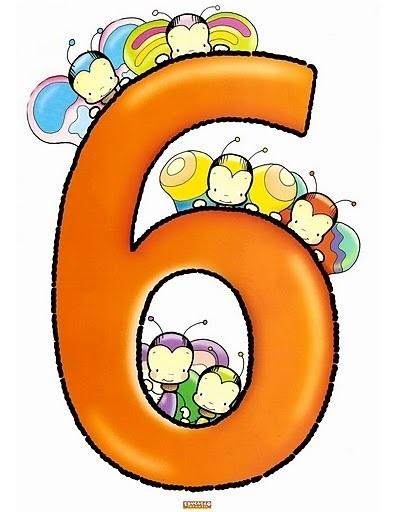 Красивые картинки цифры 6 для детей (16)
