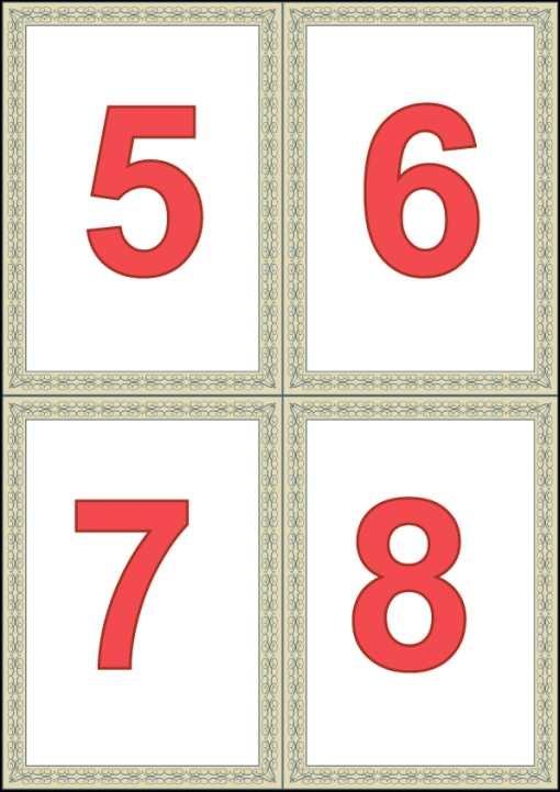 Красивые картинки цифры 6 для детей (2)