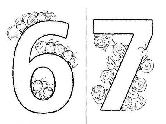 Красивые картинки цифры 6 для детей (23)