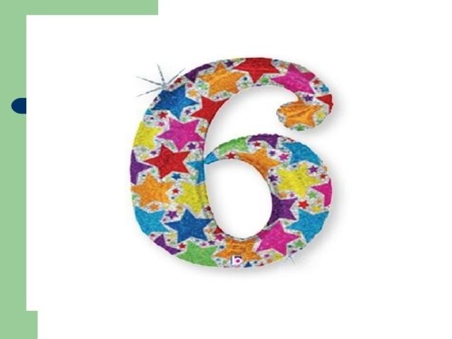 Красивые картинки цифры 6 для детей (9)