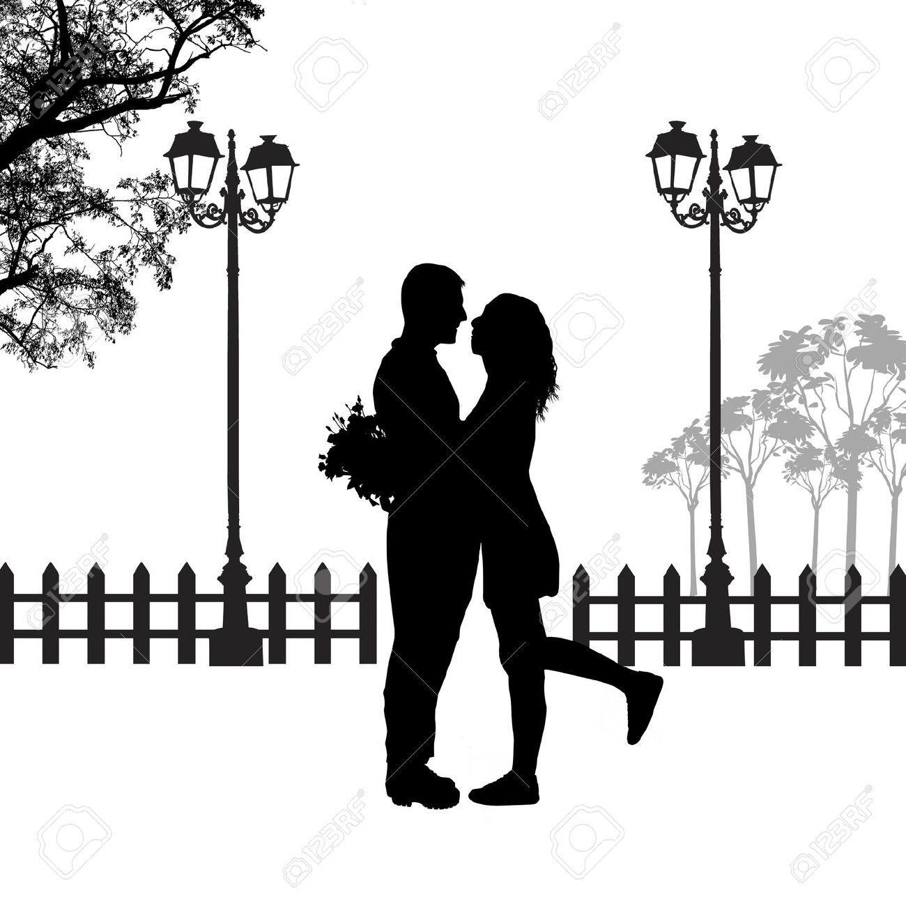 Красивые картинки черно белые пары (2)