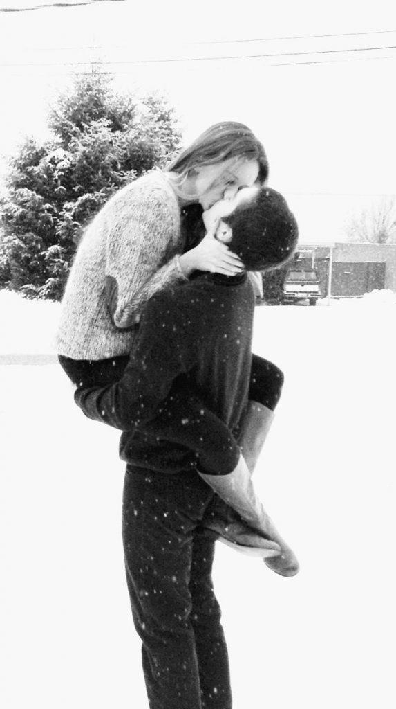Красивые картинки черно-белые пары (8)