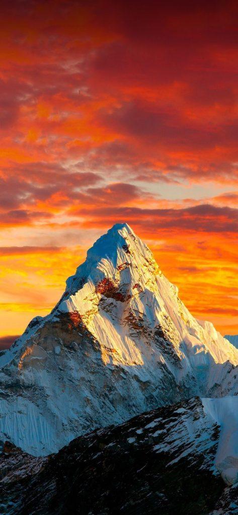 Красивые обои горы для заставки телефона - подборка (10)