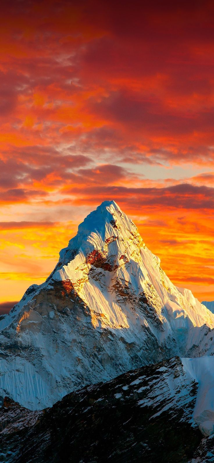 Красивые обои горы для заставки телефона   подборка (10)