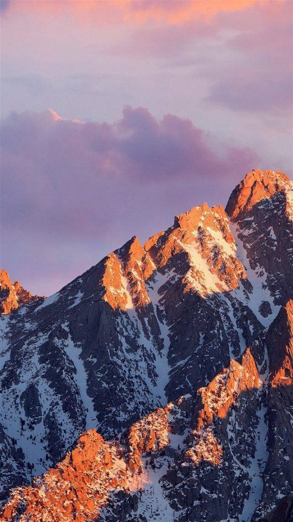 Красивые обои горы для заставки телефона - подборка (11)