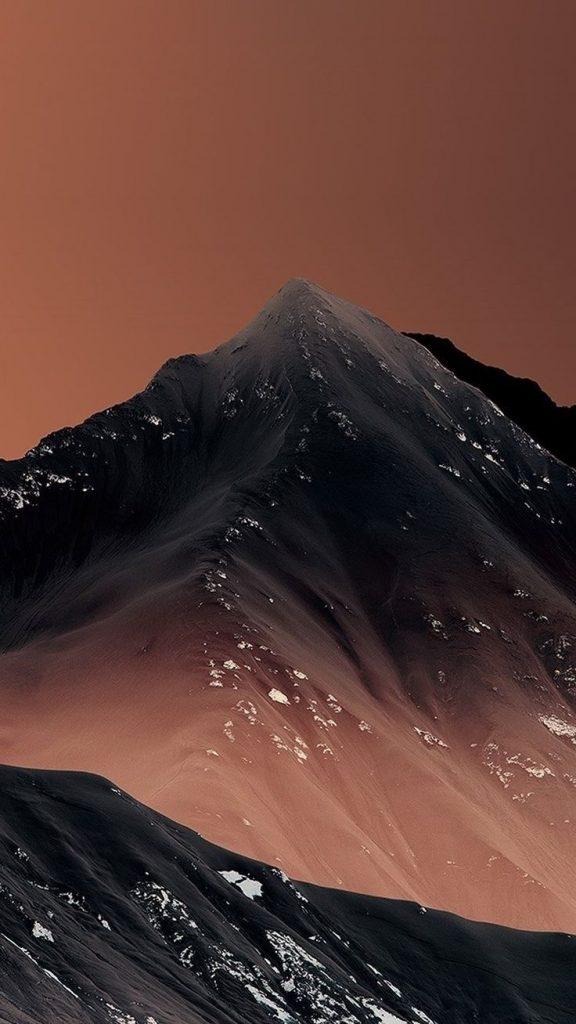 Красивые обои горы для заставки телефона - подборка (15)