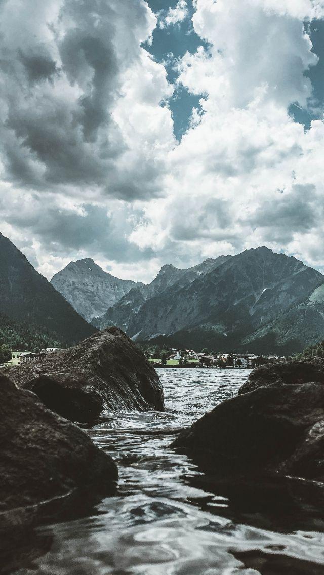Красивые обои горы для заставки телефона   подборка (19)