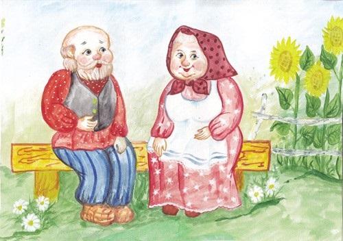 Красивые рисунки для дня пожилого человека (11)