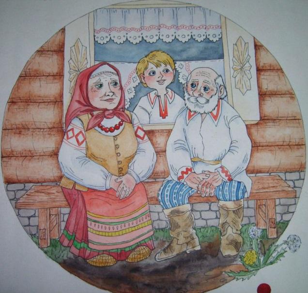 Красивые рисунки для дня пожилого человека (20)