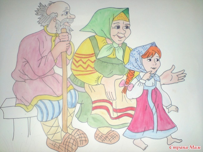 Красивые рисунки для дня пожилого человека (23)