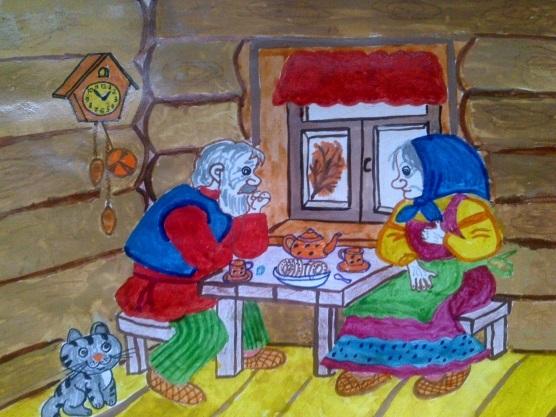 Красивые рисунки для дня пожилого человека (4)