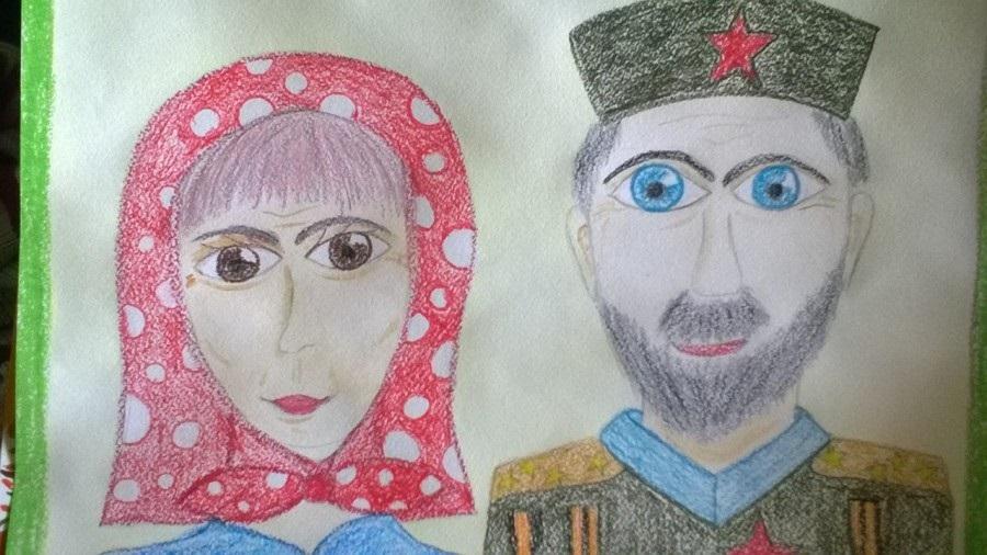 Красивые рисунки для дня пожилого человека (7)