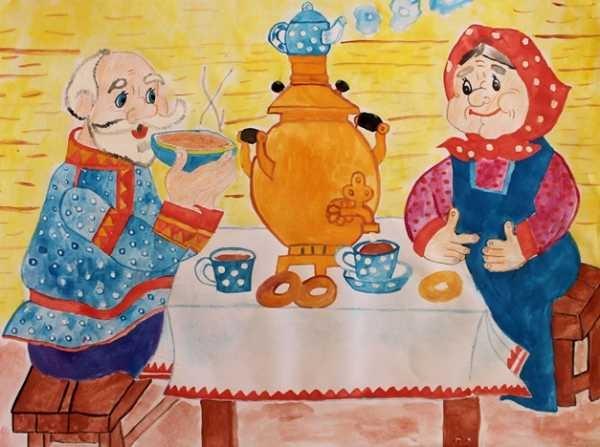 Красивые рисунки для дня пожилого человека (8)