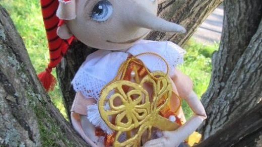 Кукла Буратино, картинки как сшить своими руками (19)
