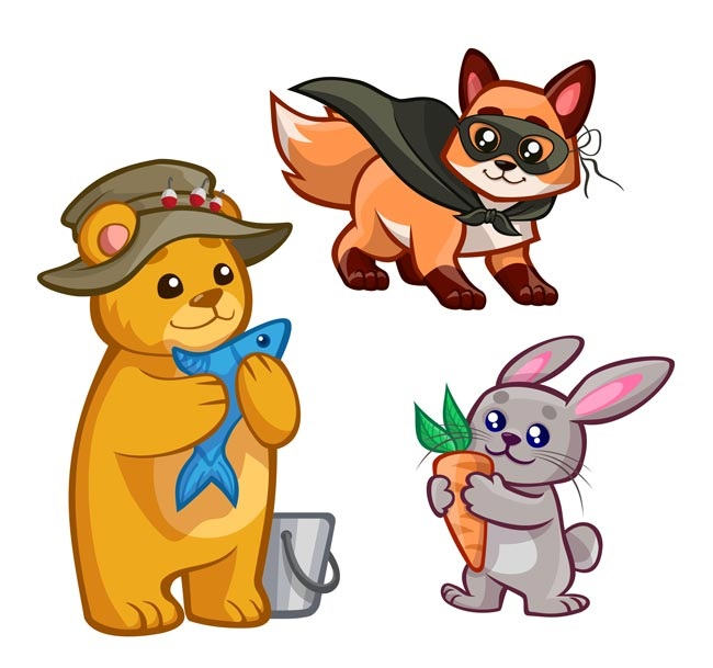 Лесные животные фото для детей (21)