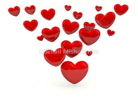 Лучшие фото сердца на белом фоне (2)