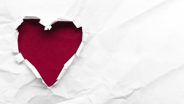 Лучшие фото сердца на белом фоне (20)