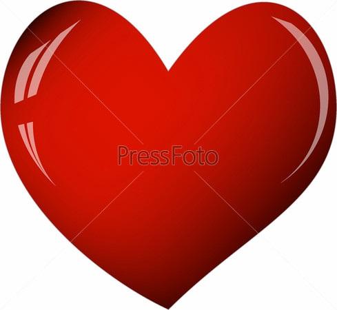 Лучшие фото сердца на белом фоне (3)