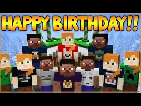 Майнкрафт картинки в день рождения (9)