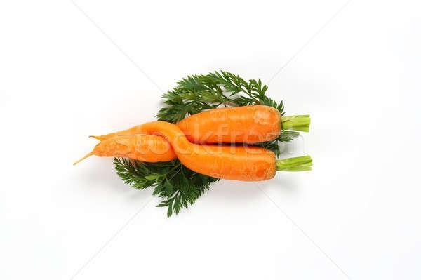 Морковь на белом фоне картинка (4)
