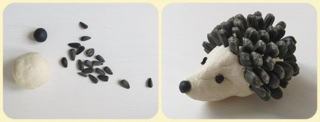 Осенние подделки волка для детей (11)