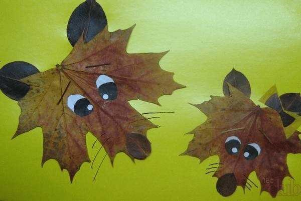 Осенние подделки волка для детей (8)