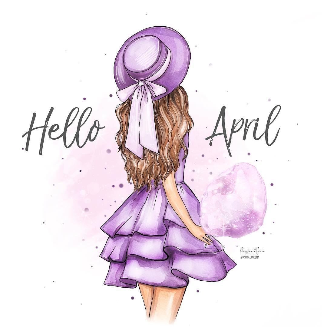Привет апрель, красивые картинки и открытки (11)
