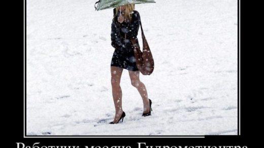 Прикольные и смешные картинки о плохой погоде (19)