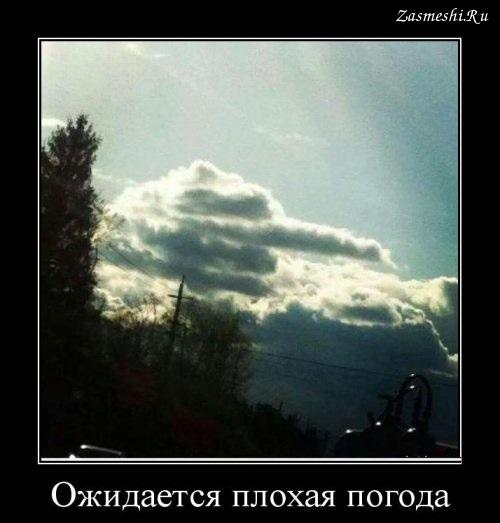 Прикольные и смешные картинки о плохой погоде (6)